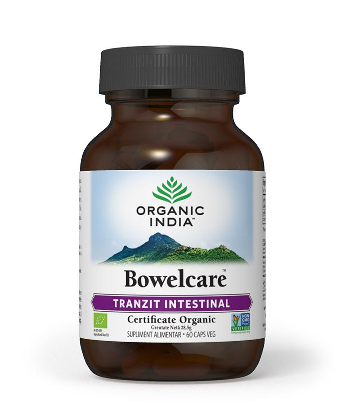 Bowelcare | Tranzit Intestinal, Combate Balonarea, 60 capsule vegetale*
