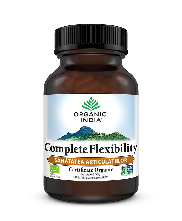 Complete Flexibility | Sanatatea Articulatiilor, 60 capsule vegetale*