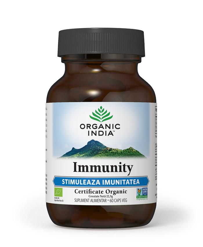 Immunity | Imunomodulator Natural, 60 capsule vegetale*