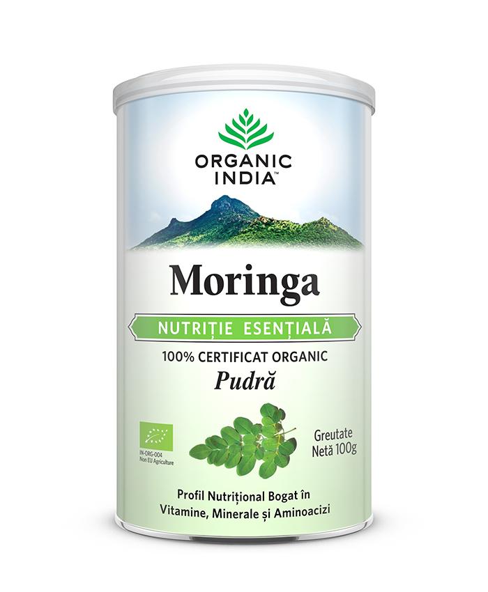 Moringa | Nutritie Esentiala, Pudra 100g*