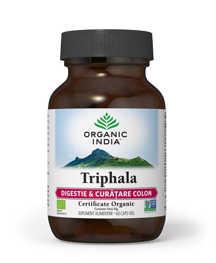 Triphala | Digestie & Curatare Colon, 60 capsule vegetale*