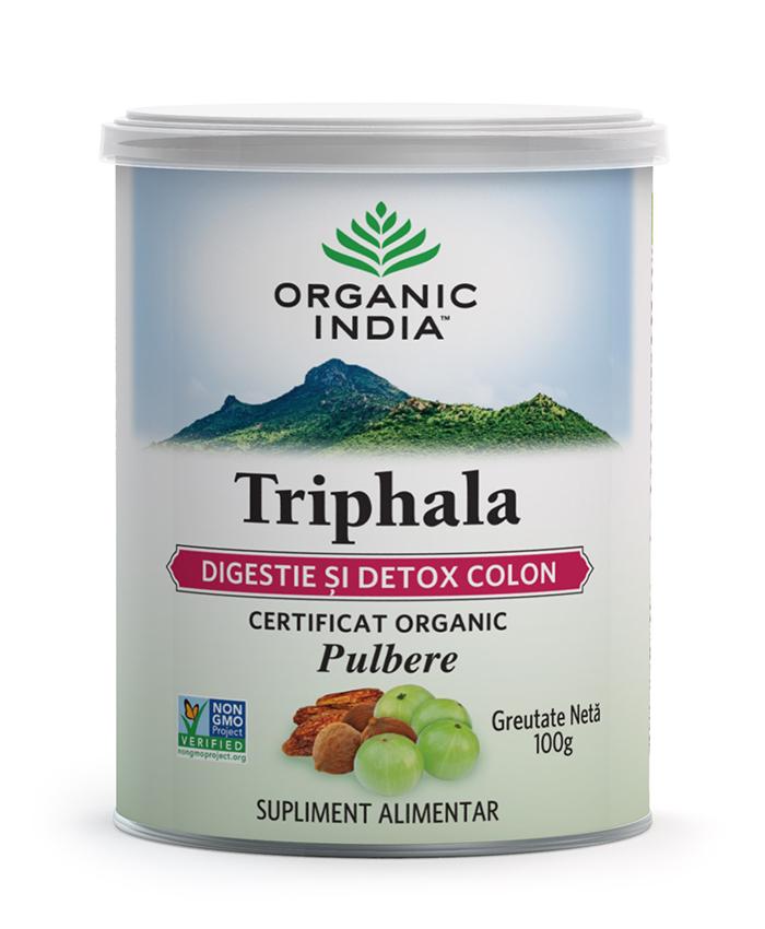 Triphala | Digestie & Detoxifiere Colon, Pudra 100g