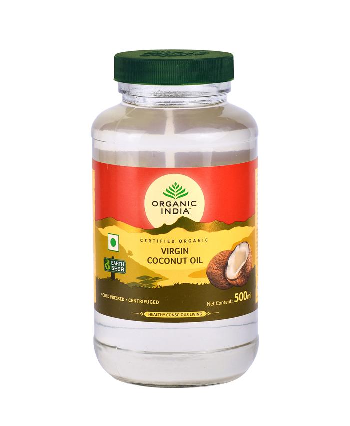 Ulei (Extra)Virgin de Cocos Premium 500ml | Nerafinat, 100% Certificat Organic, Extras la Rece si Unic Centrifugat*