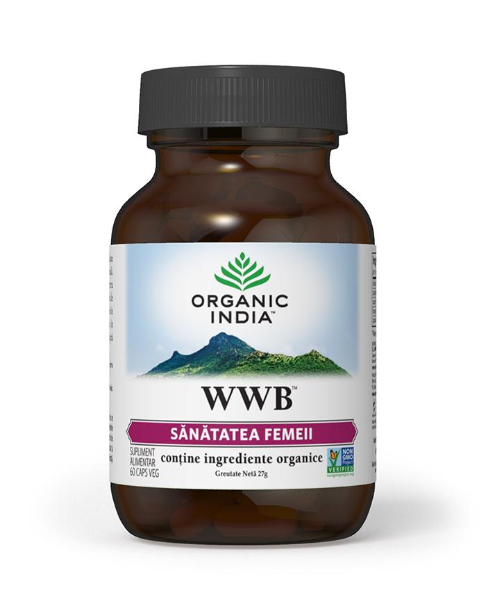 WWB | Sanatatea Femeii, Sindrom Premenstrual, 60 capsule vegetale