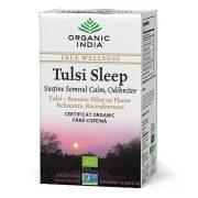 ORGANIC INDIA Ceai Tulsi Sleep cu Plante Relaxante, Reconfortante, Sustine Somnul Calm, Odihnitor