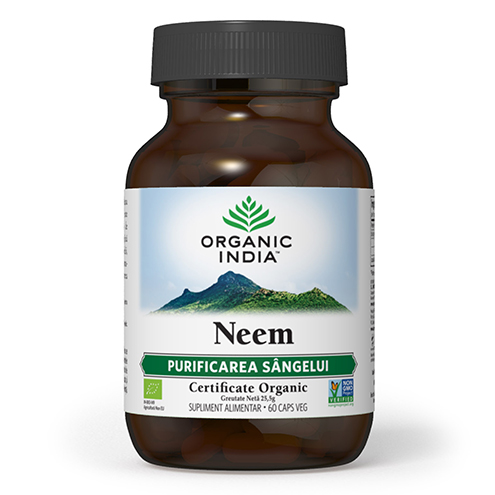 ORGANIC INDIA Neem (Antibiotic Natural), PURIFICAREA SANGELUI