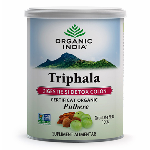 ORGANIC INDIA Triphala DIGESTIE & DETOX COLON