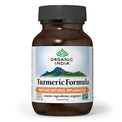 ORGAORGANIC INDIA Turmeric Formula, ANTI-INFLAMATOR NATURAL