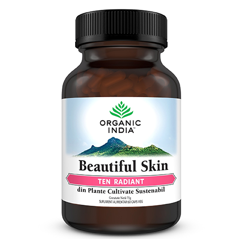 ORGANIC INDIA Beautiful Skin, TEN RADIANT