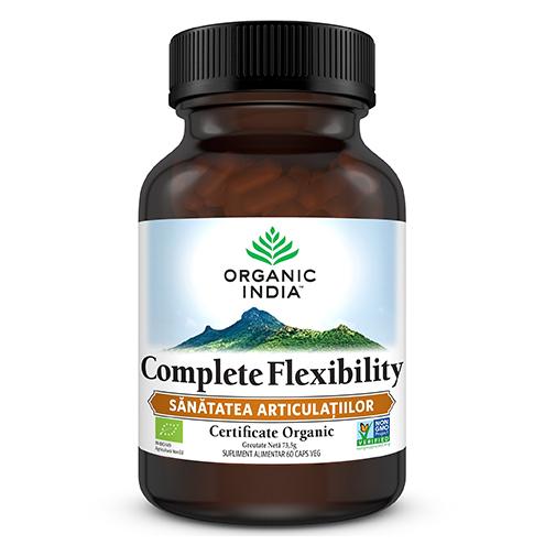ORGANIC INDIA Complete Flexibility, SANATATEA ARTICULATIILOR