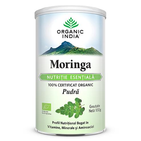 ORGANIC INDIA Moringa, NUTRITIE ESENTIALA