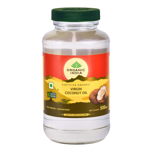 ORGANIC INDIA Ulei Cocos Virgin RAW PREMIUM
