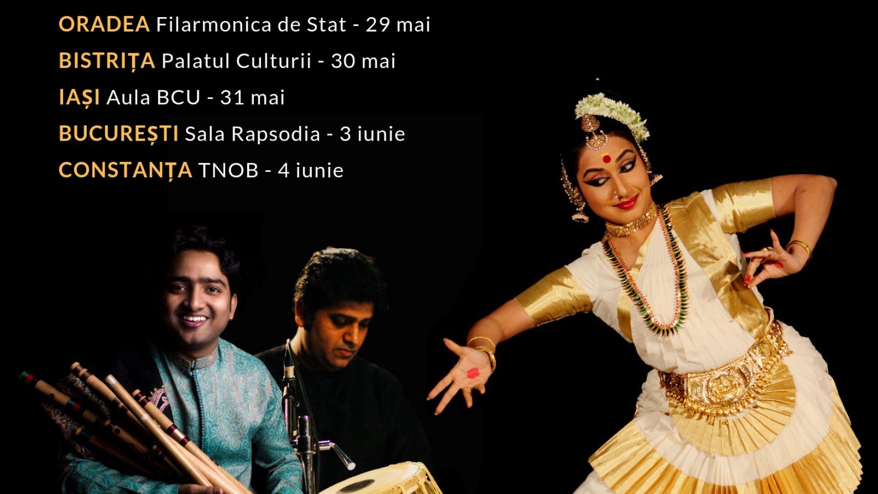 """Festivalul """"Namaste India"""" debutează cu un turneu în 6 orase"""