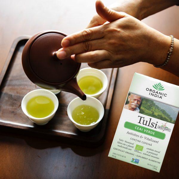 Ceai verde: cand, cum si de ce