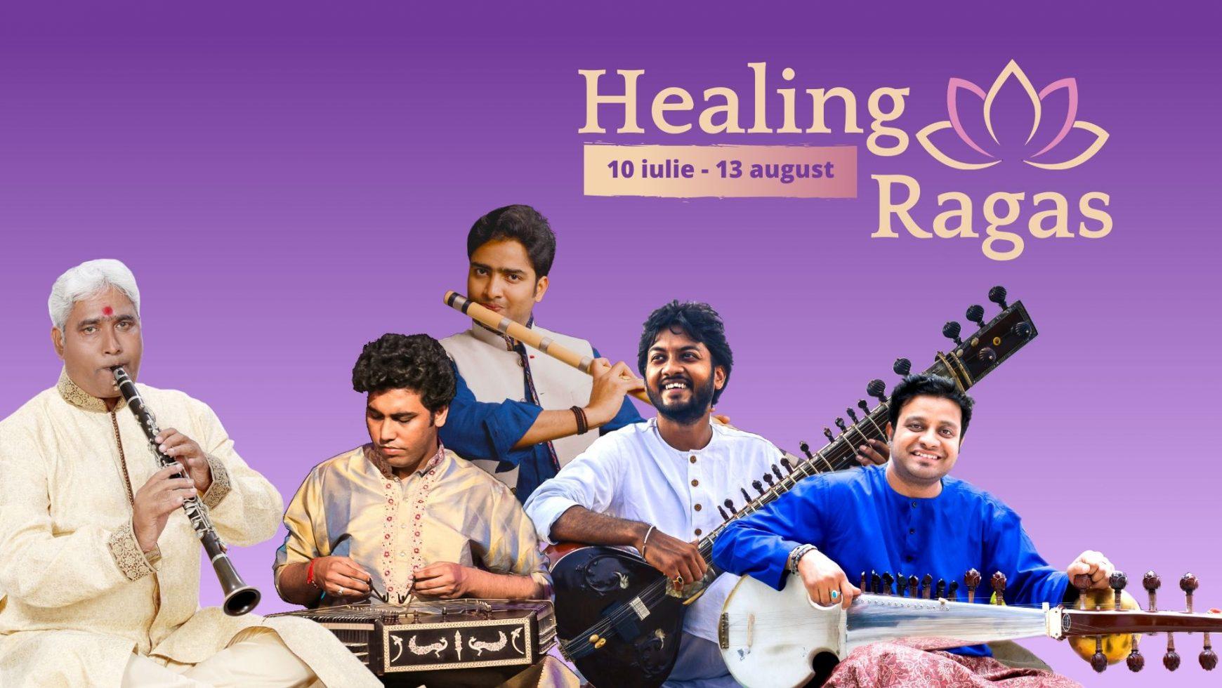Concerte online de muzică clasică indiană – Healing Ragas