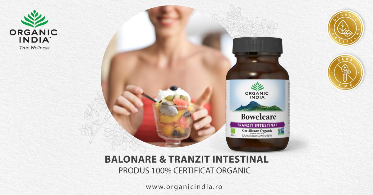 Bowelcare, beneficii pentru intestine