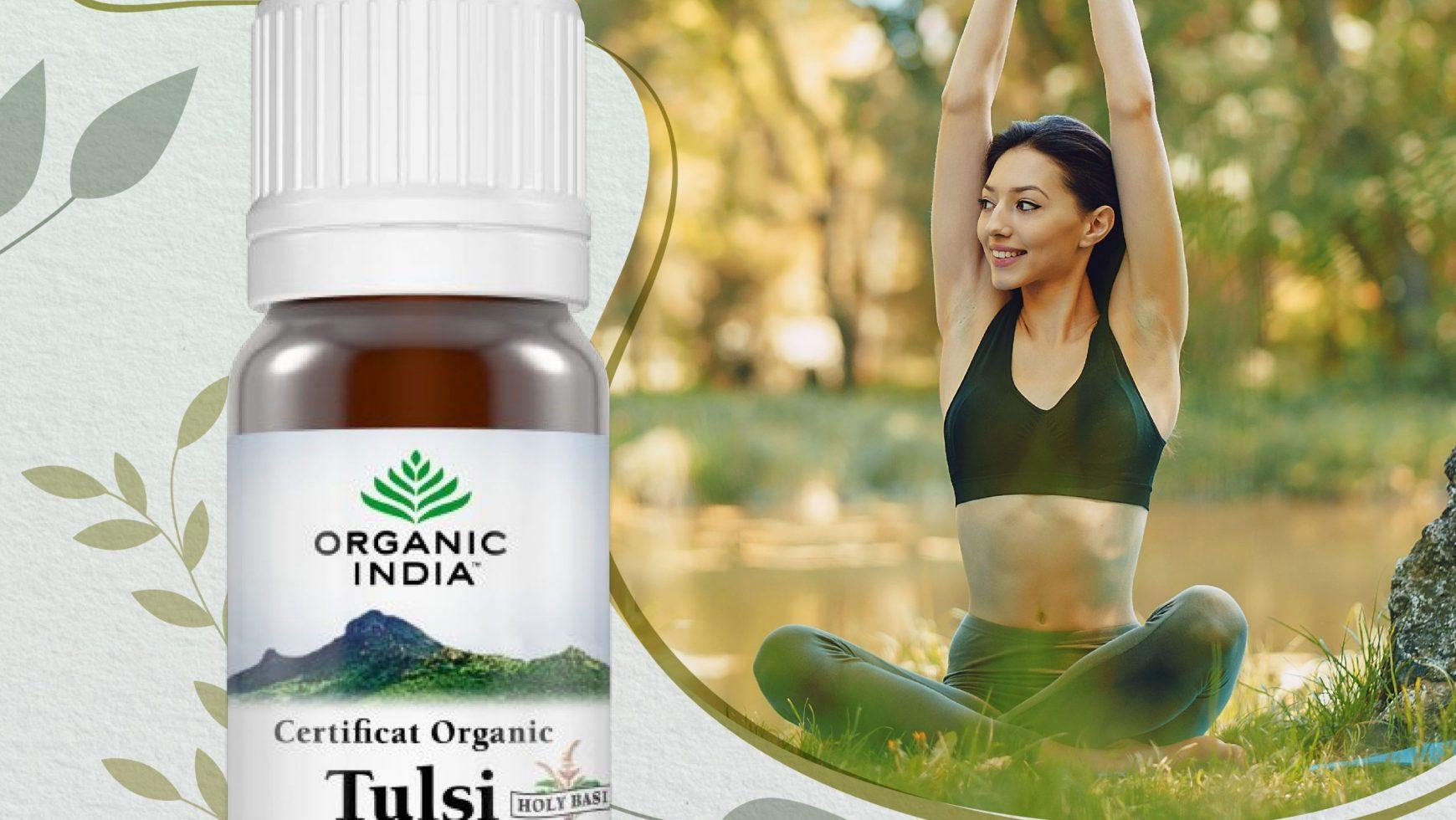 Uleiul esential de Tulsi (Busuioc sfânt): 10 beneficii pentru stare de bine